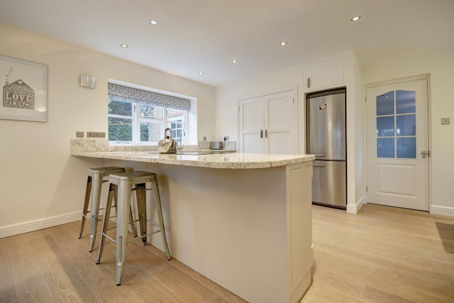 Creake Road Cottage 3 bedroom option | Breakfast bar