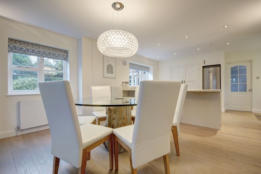 Creake Road Cottage 3 bedroom option | Dining table