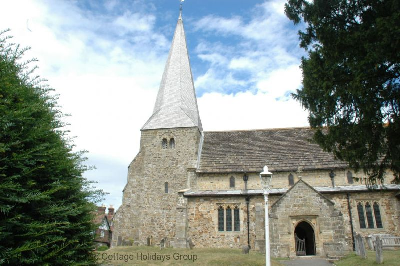 Large Image - The church in Fletching