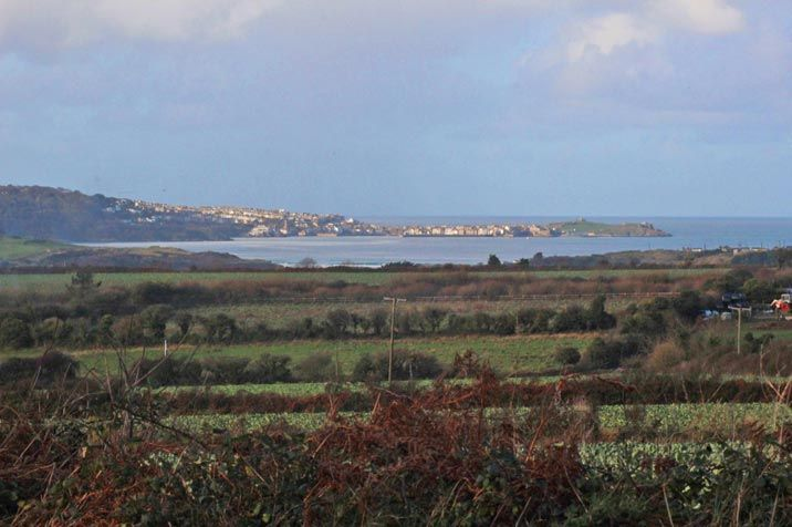 View from the terrace towards St Ives