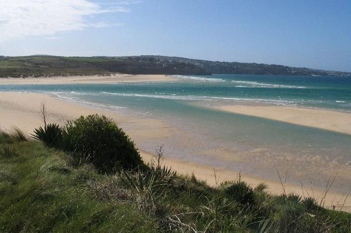 The beach at Hayle
