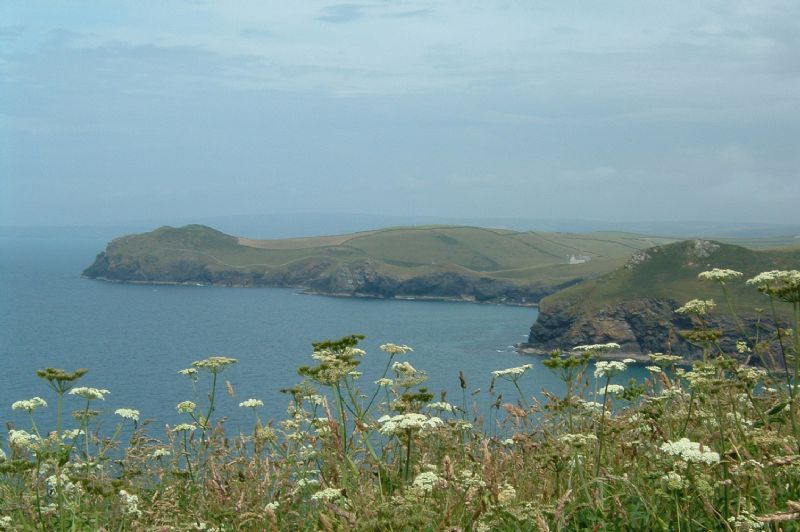 Looking towards Port Quin