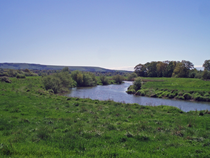 Large Image - The River Arun and the South Downs