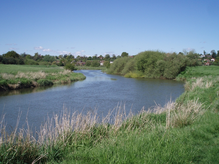 Large Image - The River Arun at Pulborough