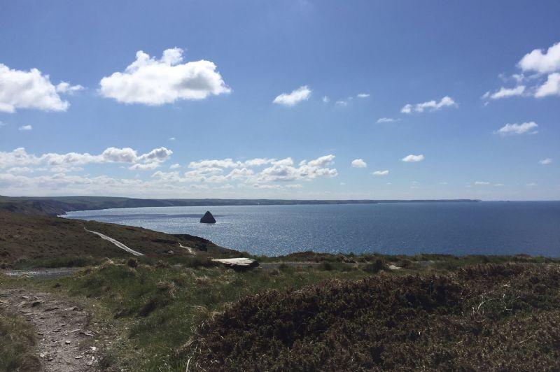 North Cornwall coastal path