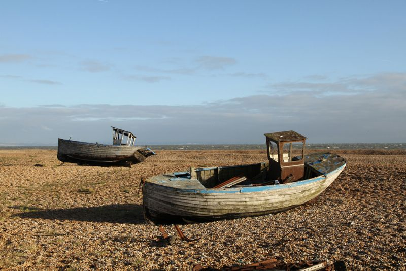 Nearby Dungeness beach