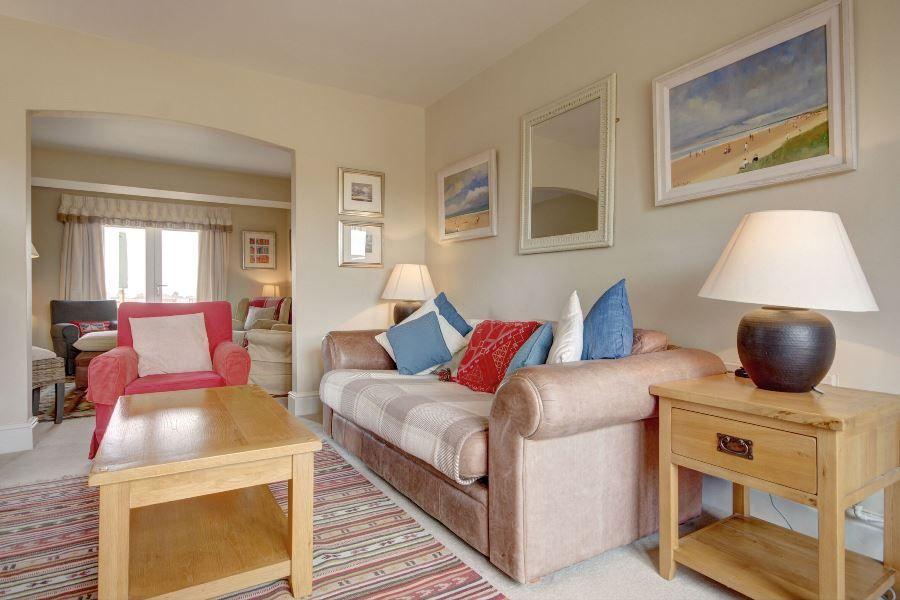 Greystones | Sitting room archway