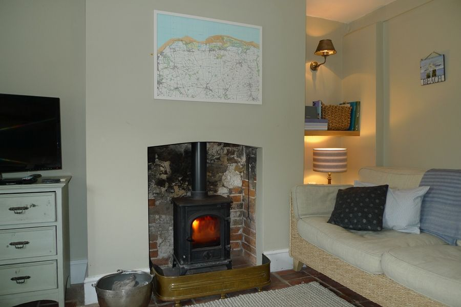 Pear Tree Cottage | Cosy wood burner