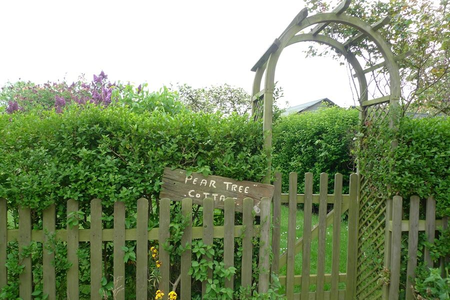 Pear Tree Cottage | Gate to garden
