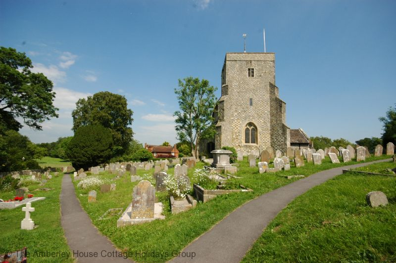 Large Image - St Andrews church in Steyning