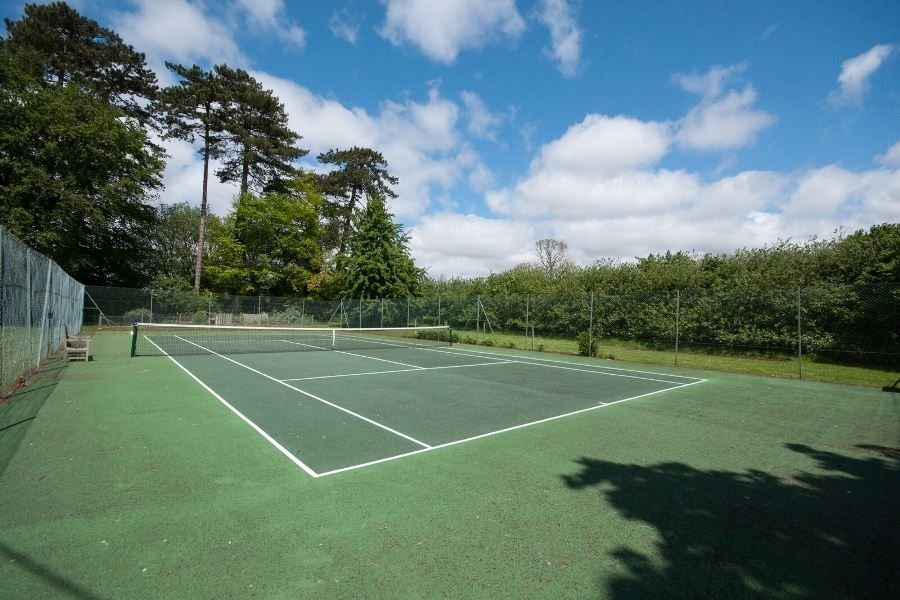 Flitcham Hall | Tennis court