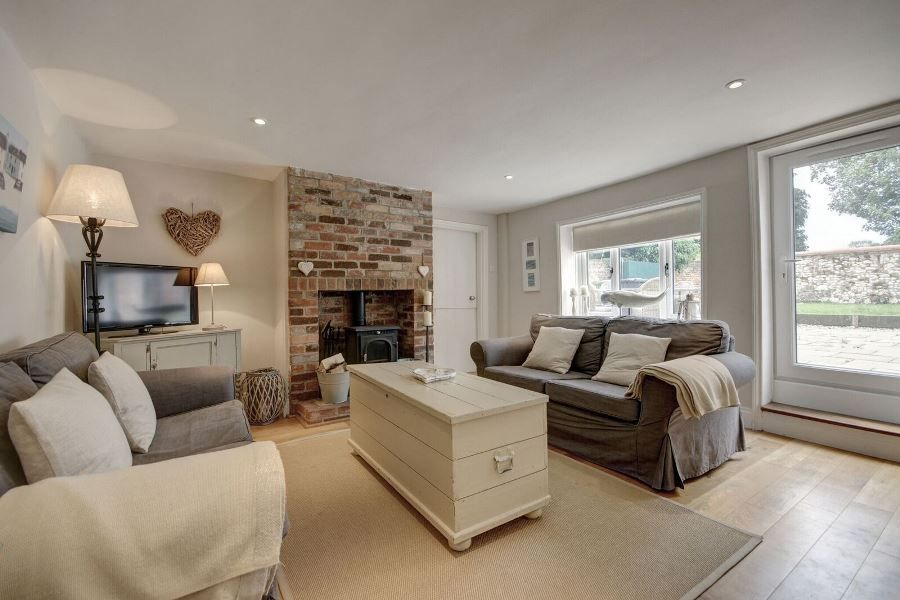 The Old Pharmacy 3 bed option | Sitting area