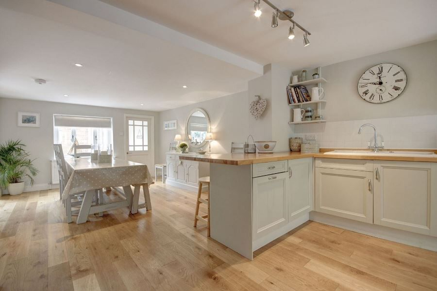 The Old Pharmacy 3 bed option | Kitchen and dining