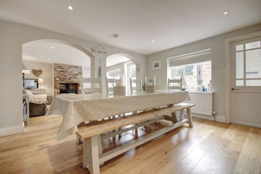 The Old Pharmacy 3 bed option | Dining area