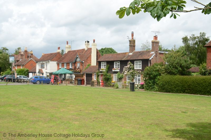 Large Image - The local hostelries on the green
