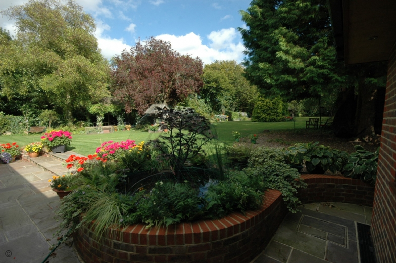 Large Image - The garden at Beacon Cottage