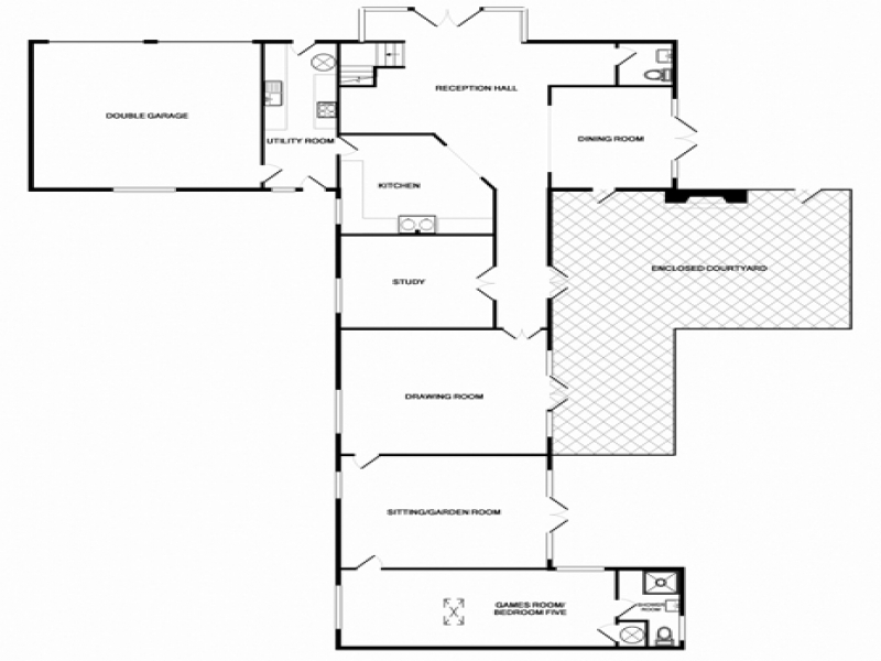 Lavender Barn | Ground Floor Plan