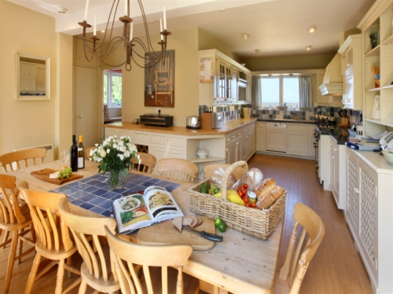 West Harbour House sleeps 8 | Kitchen