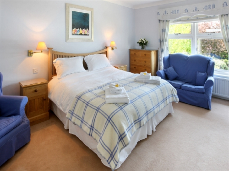West Harbour House sleeps 8 | Bedroom 1