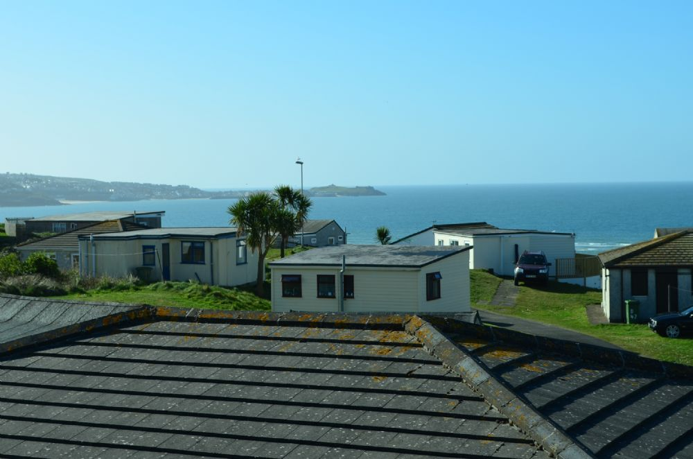 View of St Ives from the lounge