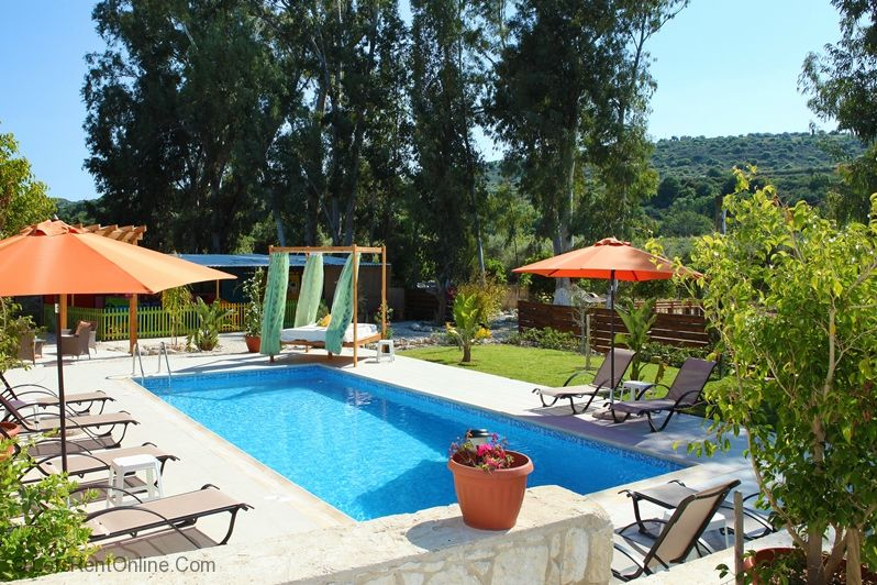 Goudi Georgios Rafaela Villa Private Pool Area