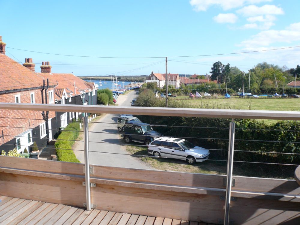 Staithe Barn | View from balcony