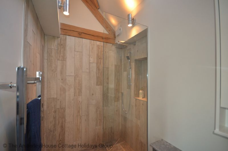 Large Image - Family bathroom with walk in shower area