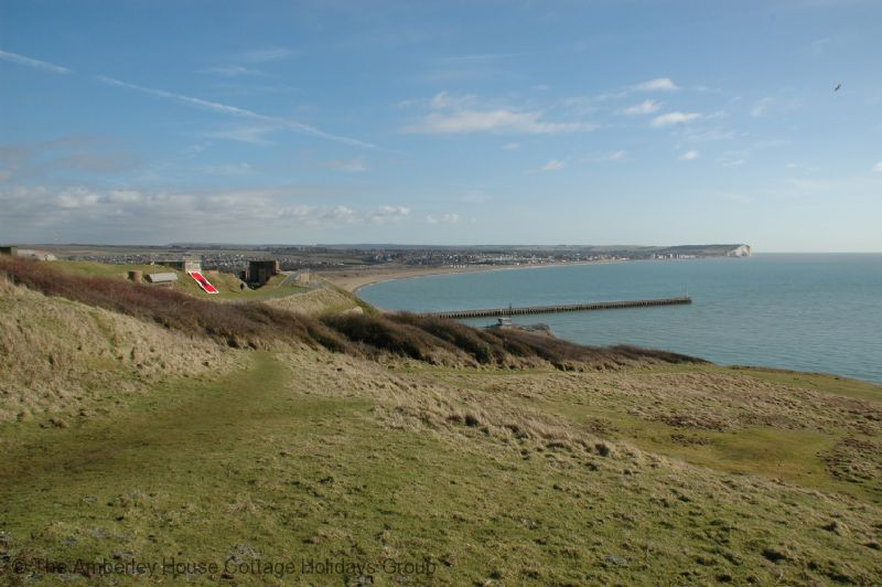 Large Image - Newhaven Fort and the views over the sea