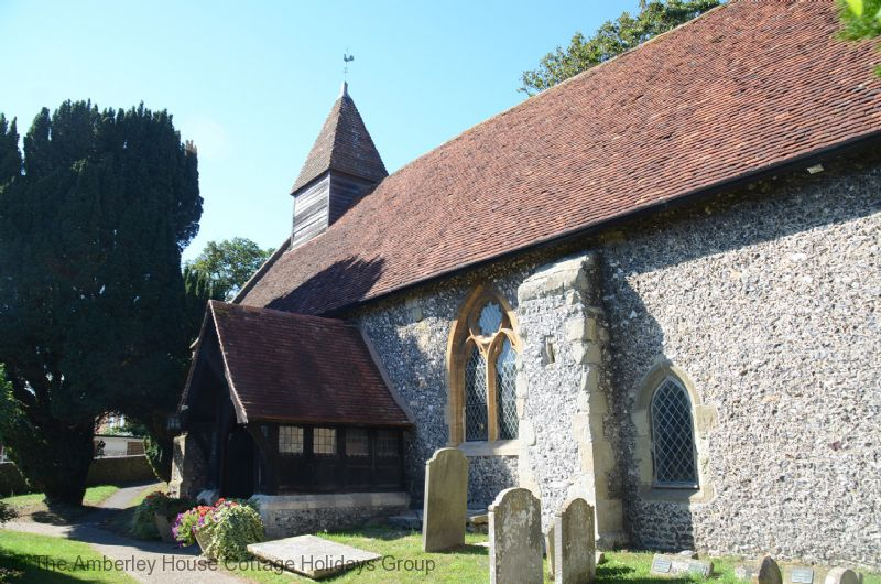 Large Image - Local parish church at Denton