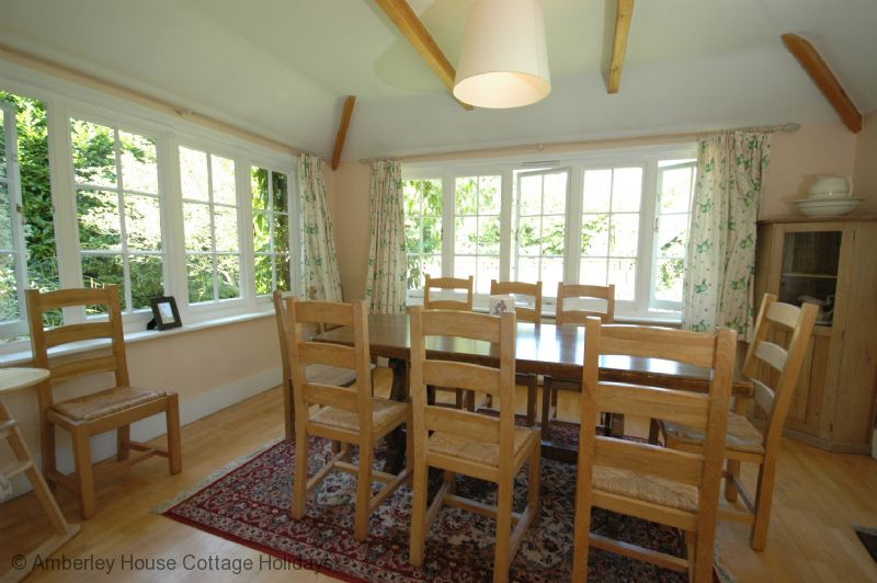 Large Image - The Bothy Cottage spacious dining