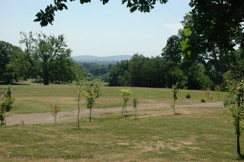 Large Image - The view to the Downs from the hotel grounds