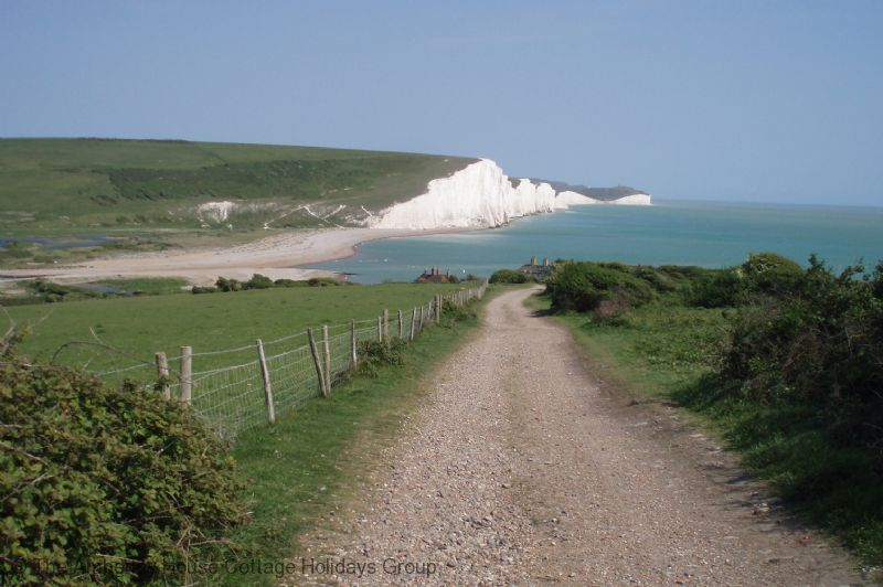 Large Image - The Seven Sisters at Cuckmere Haven