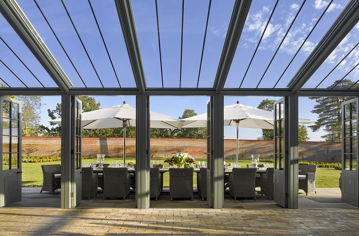 The Walled Garden - Dine out in stlye