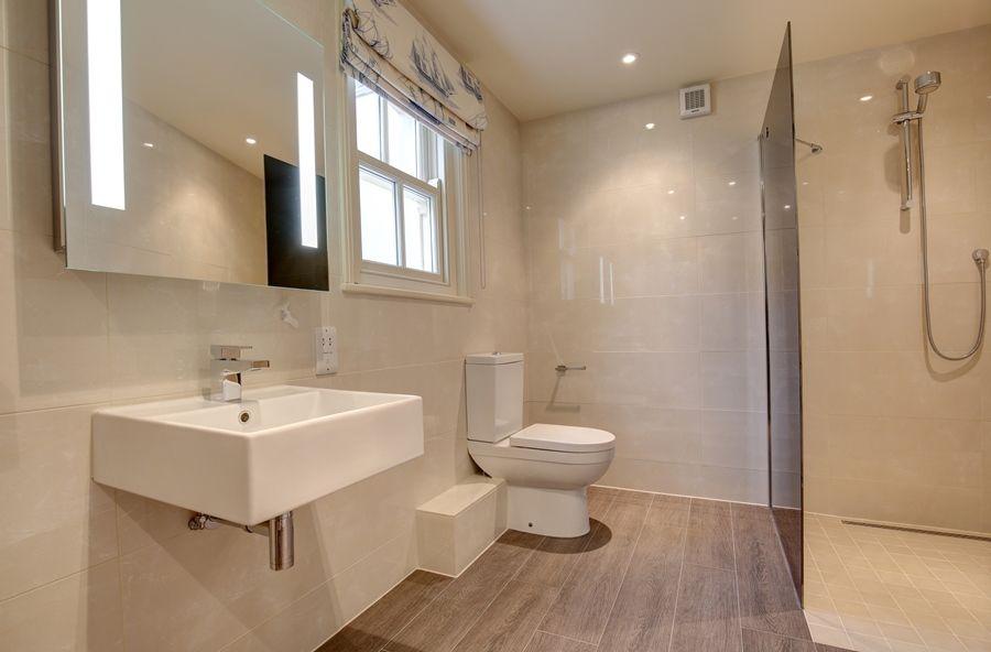 Falgate | Downstairs shower room