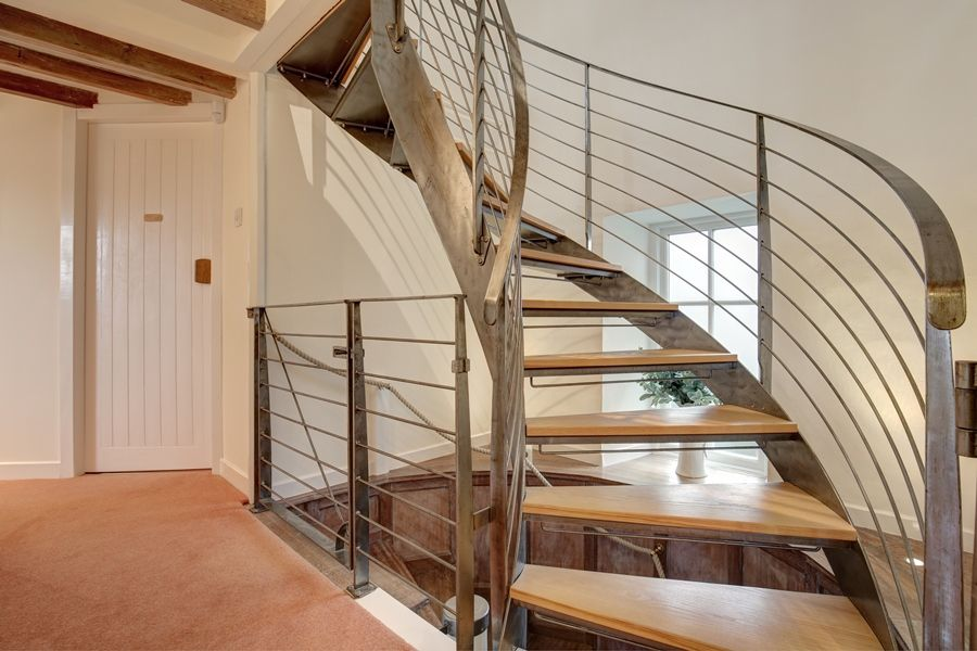 Falgate | Staircase to top floor