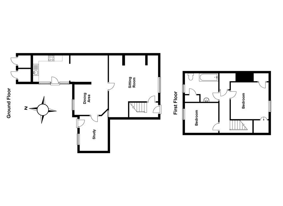 Saffron Cottage | Floor plan