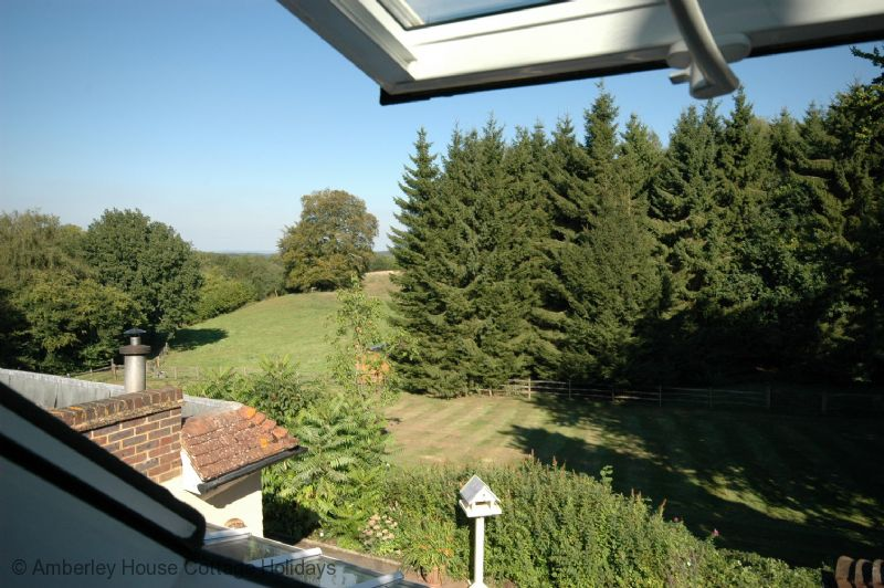 Large Image - The view from the bedroom roof window