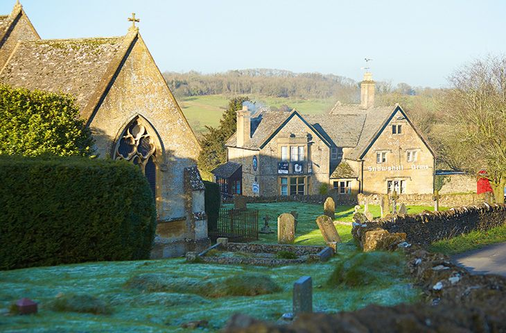 The village of Snowshill
