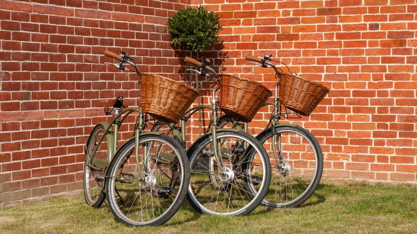 Complimentary Pashley bikes