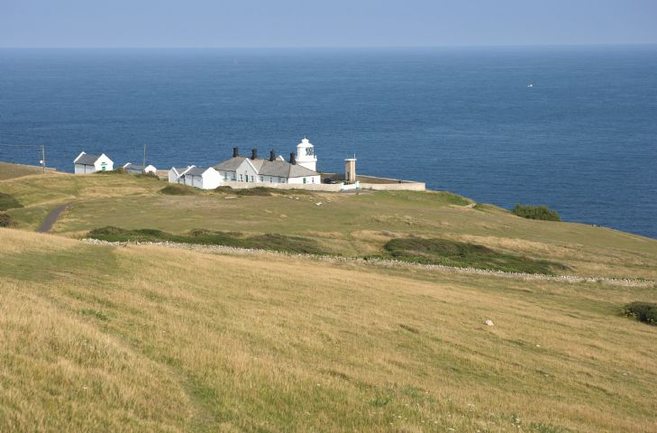 Anvil Point Lighthouse site
