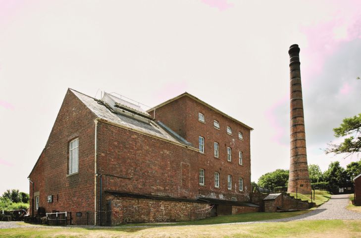 The Pumping Station for the Kennet & Avon Canal at Crofton approx 7 miles away
