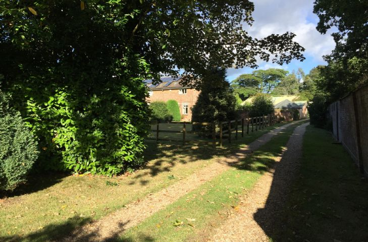 The Coach House is situated in the grounds of Heathfield House