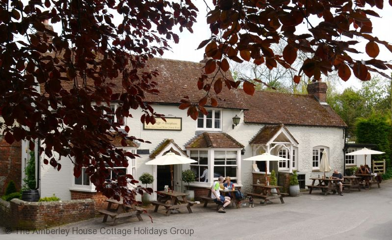 Large Image - The George at nearby Burpham