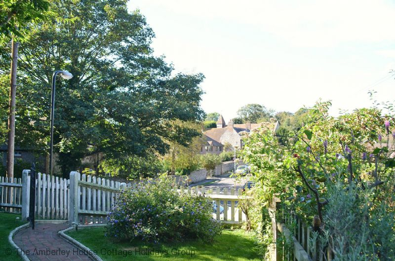 Large Image - View from the front garden to the parish church