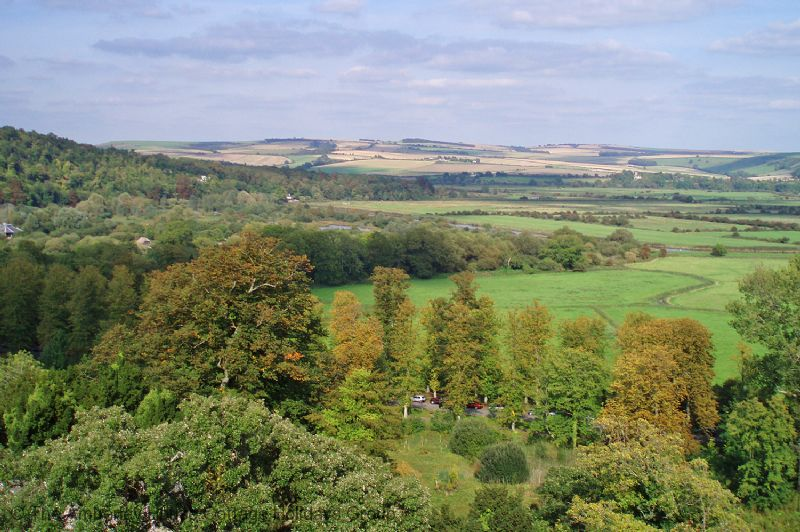 Large Image - Views from the battlements of Arundel Castle