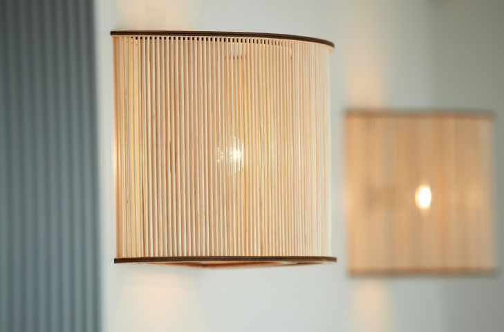 Oak lighting combining traditional and contemporary touches of warmth and character