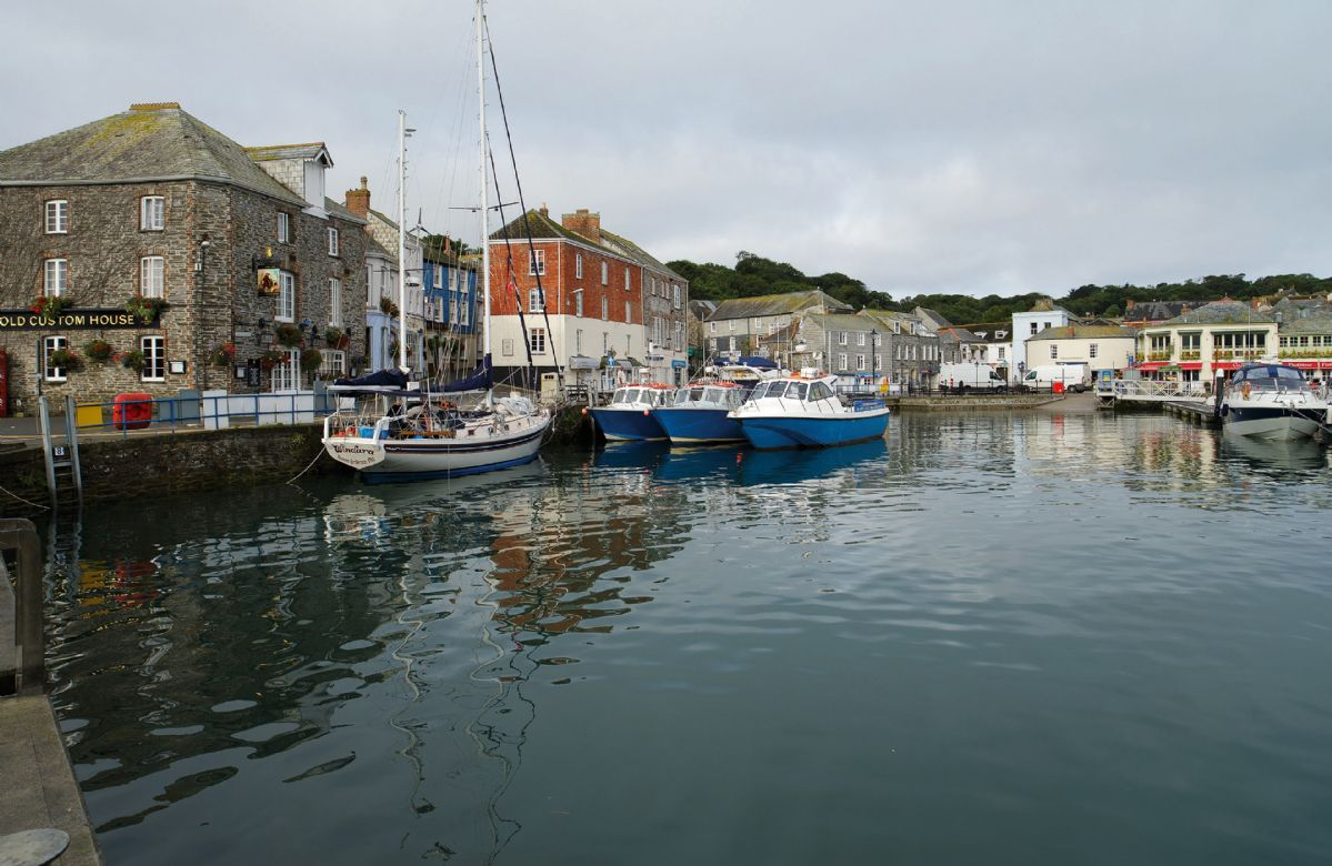 The picturesque Padstow Harbour
