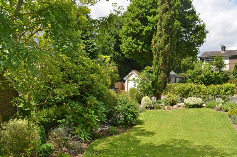 Large Image - The beautifully tended front garden area