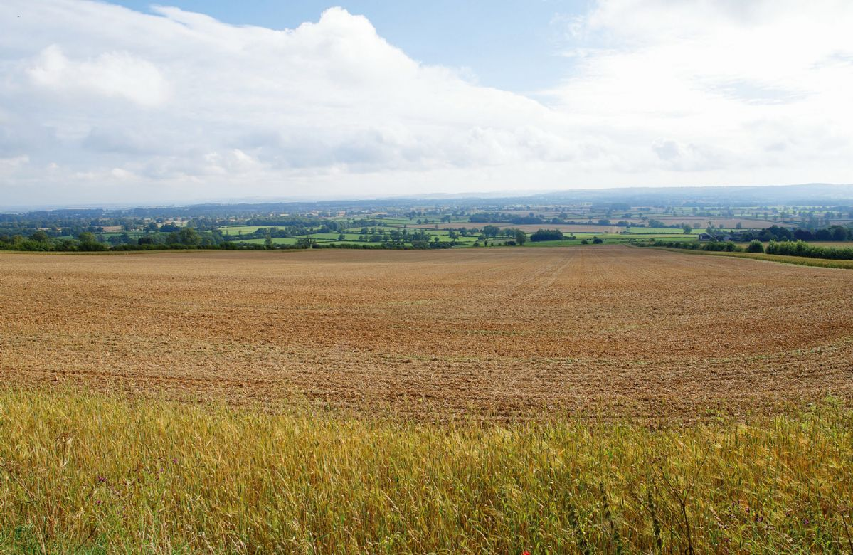 Views of the beautiful Cotswold surrounding countryside
