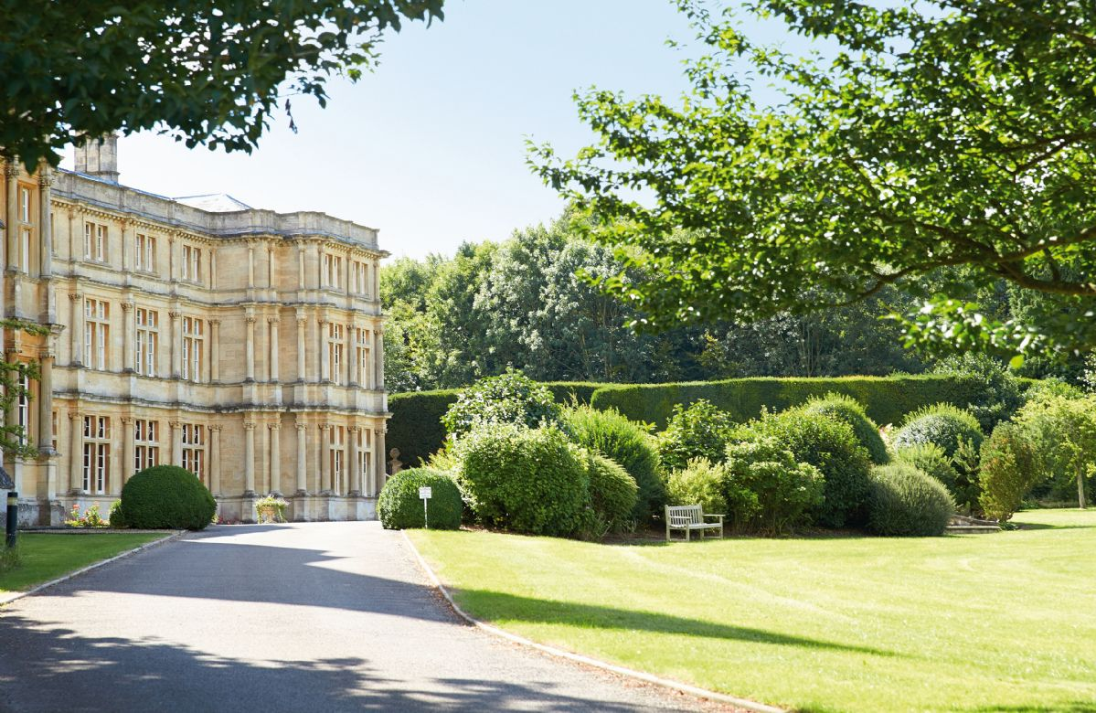 The magnificient stately home, Sherborne House